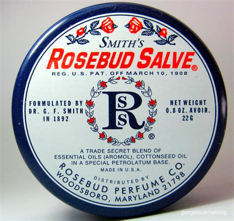 Drugstore Smiths Rosebud Salve by Gorgeousme Are You A Sucker For Unique Sleek Packaging