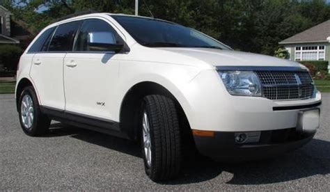 auto air conditioning service 2007 lincoln mkx transmission control find used 2007 lincoln mkx fwd suv only 42 551 miles 3 5l v6 white leather exc in egg