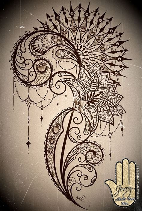 2 Die 4 Ondademar Funky Coverup by Mandala And Lace Thigh Concept Design With Lotus