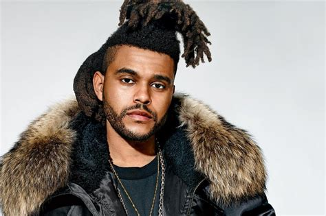 what is up with the weeknds hairdo fusion radio 187 profile the weeknd fusion radio