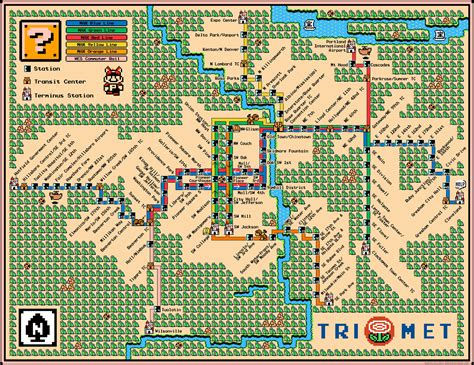 trimet max map map dave s geeky ideas