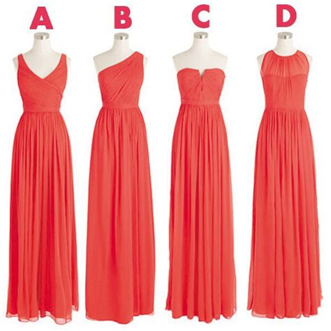 coral colored dresses pin coral colored bridesmaid dresses image search results