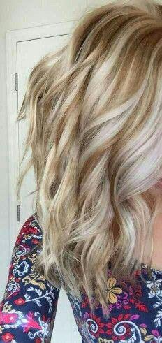 golden lowlights  platinum highlights hair color