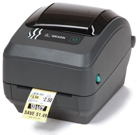 Zebra GK420 Printer - Research, Buy, Call for Advice.