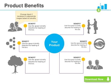 product layout benefits vc pitch deck template powerpoint