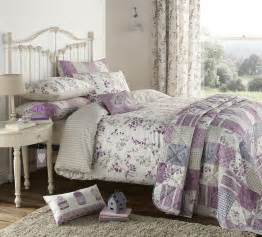 Shelly layla king bed size leaves lilac purple duvet cover quilt