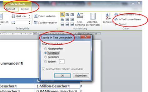 wandlen weiß ms office word tabelle in text umwandeln chip