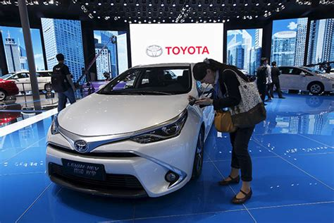 Toyota Market In China Tougher Market Is Hurting Overall Sales Toyota