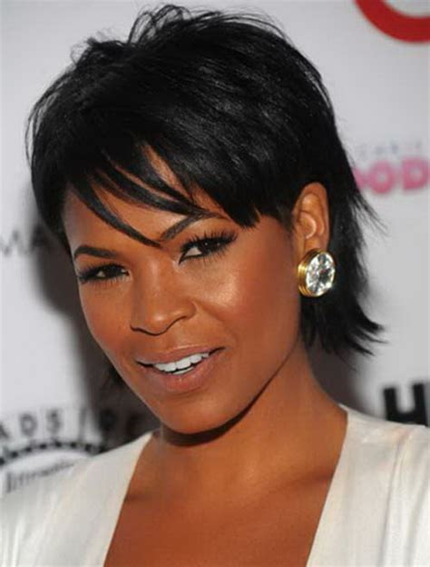 black short hair styles of la short black hairstyles with bangs