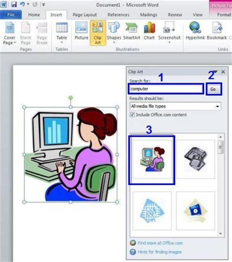 clipart office 2013 cara menambahkan clipart pada microsoft word