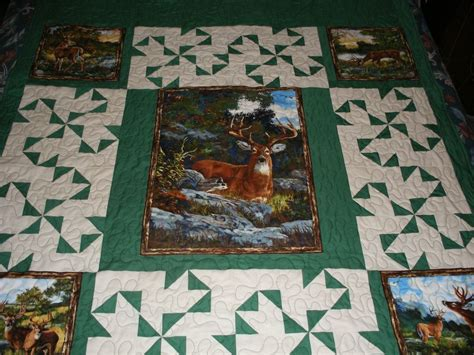 Wildlife Quilt by 1000 Images About Quilts Cabin On Moose Quilt