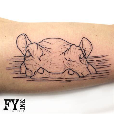 hippo tattoo designs 12 hippo designs