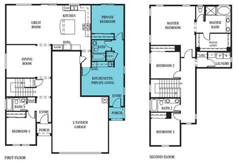 Multigenerational Floor Plans by Lennar 174 Inventory Deals On New Homes In Reno