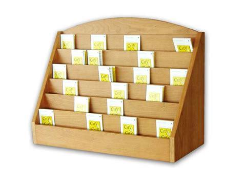 espositori da banco in legno espositore in legno durevole porta cards e bigliettini per