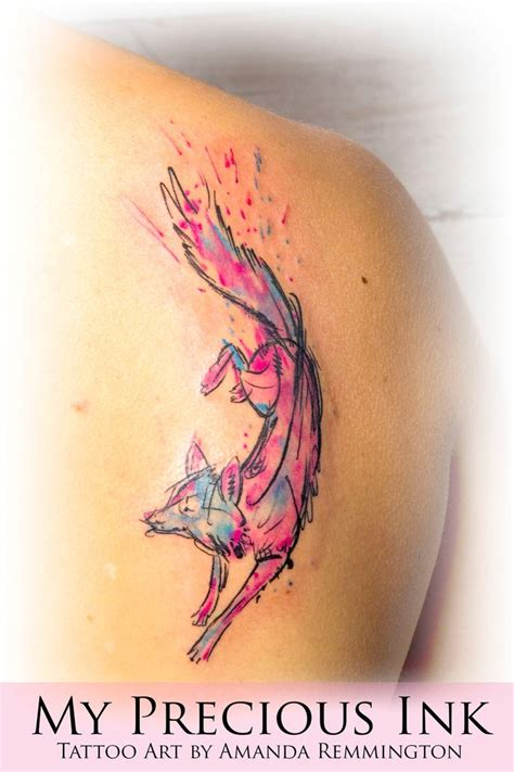 watercolor tattoo pictures watercolor watercolor abstract fox