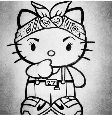 hello kitty gangster wallpaper hello chola kitty gangsta pinterest kitty love it