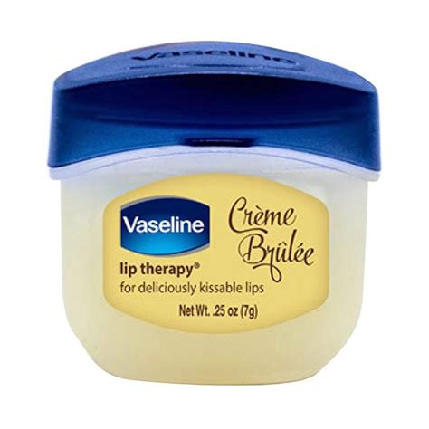 Pelembab Vaseline Jual Vaseline Lip Therapy Creme Brulee Pelembab 7 G