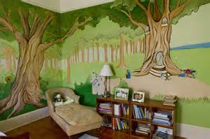Painted Wall Murals For Kids Diy Wall Murals Modern Magazin