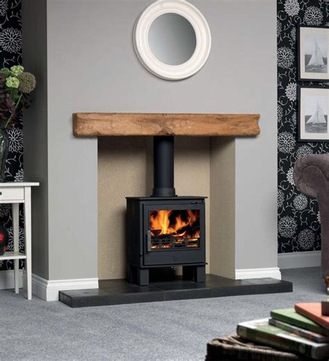 Living Room Ideas Log Burners 1000 Ideas About Painted Fireplace Mantels On