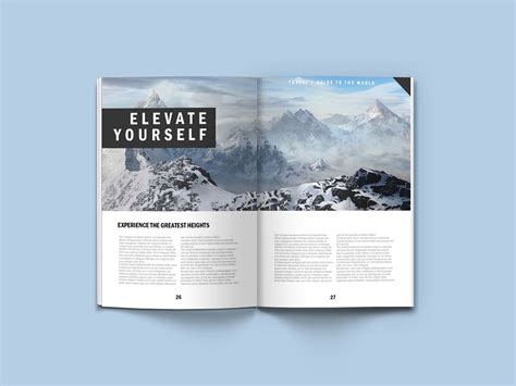 free mock up a4 magazine mock up free by jan alfred barclay