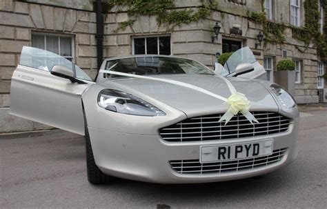 Wedding Cars Aston Martin by Aston Martin Wedding Car Rapide Hire Cupid Carriages