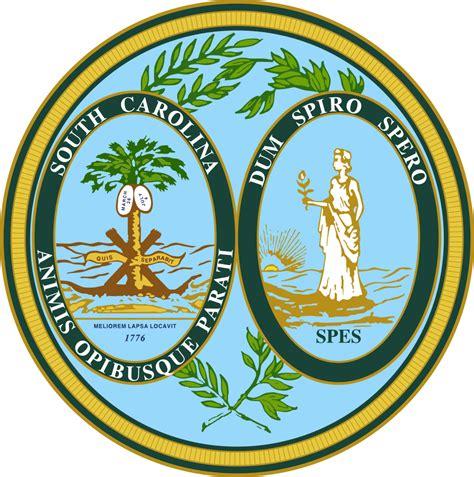 of south carolina colors file seal of south carolina svg