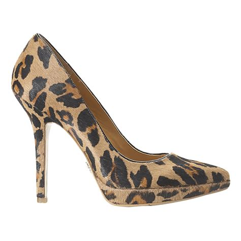 nine west shoes for nine west fury pointy toe in animal camel multi