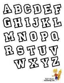varsity alphabet coloring free