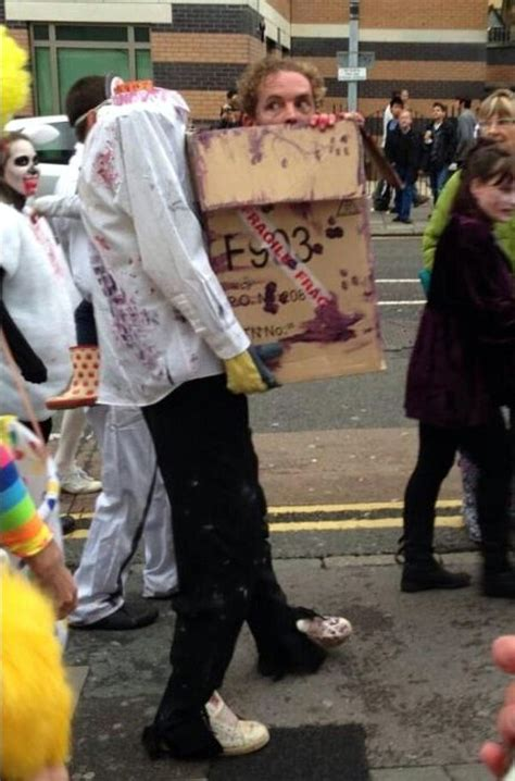 costume carrying box carrying a box of parts costume neatorama