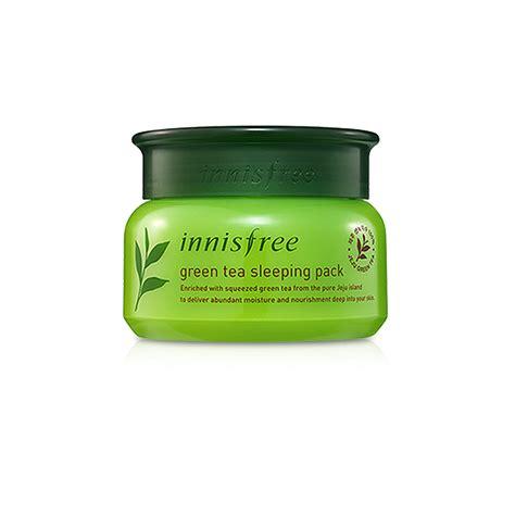 Innisfree Greentea Sleeping Pack innisfree green tea sleeping pack 80ml free gifts ebay