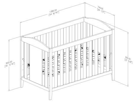 sweet morning convertible crib