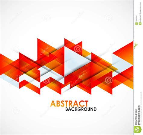 format eps en jpg abstract orange triangles design stock photo image 32716090