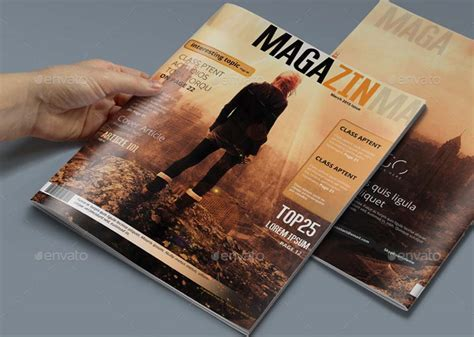 20 beautiful premium templates for magazines