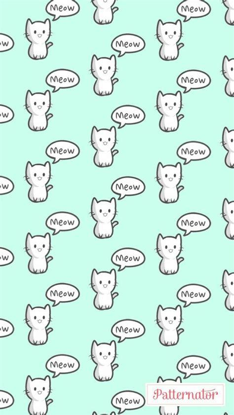 patternator baixar patternator meow gatinho fofo wllp papel de parede