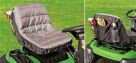 garden tractor seat cushion tractor seat cushion cover with handy pockets size