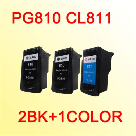 Tinta Canon Cl 811 Colour Compatible Gred A Kw 1 Bergaransi 3pcs ink cartridges compatible for canon pg810 cl811 pg 810 cl 811 mp245 258 268 276 486 496 328
