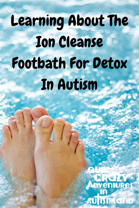 Tuna Ish Given For Autistic Detox by Learning About The Ion Cleanse Footbath For Detox In Autism