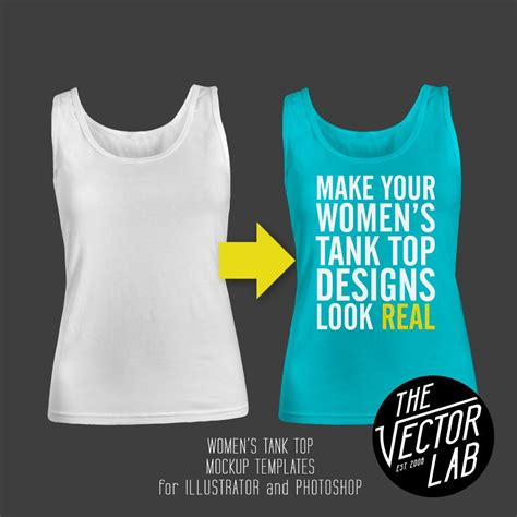 vos logo tank top vision of