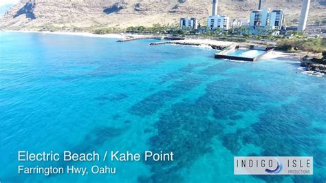 A 1 Electric Hawaii by Kahe Point Electric Oahu Hawaii 4k Dji Phantom