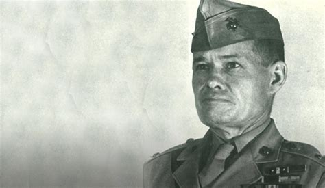 Most Decorated Enlisted Marine by Legendary Marine Corps Leader Chesty Puller Semper Fi