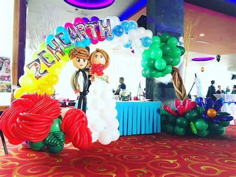 Wedding Balloon Arch by Wedding Balloon Arch Decorations That Balloons