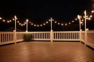 deck string lights pin by aina wahl on verandarekkverk lakes