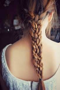 hair plaits big hair friday triple braid hair romance