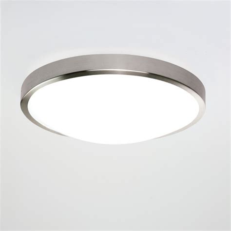 overhead lighting astro lighting osaka matt nickel bathroom ceiling light