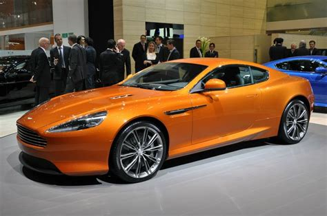 Aston Martin Orange Aston Martin Rapide 2013 Orange Aston