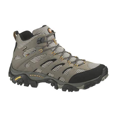 merrell s moab mid tex hiking boots