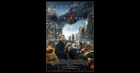 film d action zombie world war z brad pitt dans le film de zombies le plus
