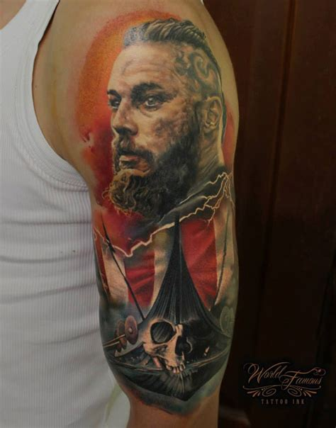 ragnar lothbrok best tattoo ideas amp designs