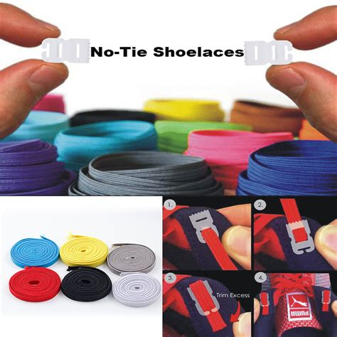 diy shoe laces elastic no tie shoelaces sports trainer running athletic