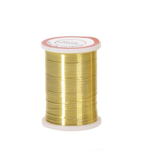 beading wire 34 gold beading wire 24 yards jo